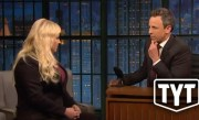 Meghan McCain Gets Awkward With Seth Meyers