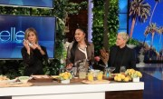 Ayesha Curry Cooks Up Dishes with Jennifer Aniston and Ellen