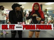 MS. FIT vs PHARA FUNERAL QOTR presented by BABS BUNNY & VAGUE