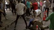 Quick Brawl Goes Down At 6th Street In Austin, Texas!
