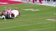 All Bad: Oklahoma Sooner Schooner Horse-Drawn Wagon Flips During Touchdown Celebration!