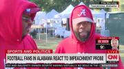 Alabama Football Fans Say President Trump Is Being Treated Unfairly With Impeachment Probe!
