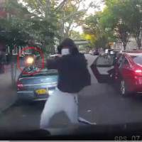 Wild: Masked Gunmen Jump Out Of Car & Open Fire On Victim Entering UBER In Brooklyn!