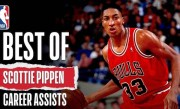 Best Of Scottie Pippen Career Assists | #NBAHistory