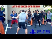 Trying To Cop A PS5 Ain't No Joke: They Held A Street Boxing Tournament… Winner Gets A PlayStation 5 Digital Edition!