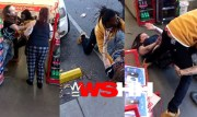Husband & His Wife Get Whooped By 1 Man Inside A Charlotte, NC Store For Getting Loud With Him!