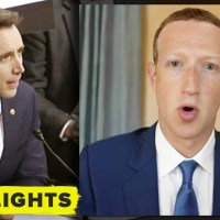Republican Senator GRILLS Zuckerberg on Facebook, Google, and Twitter collaboration
