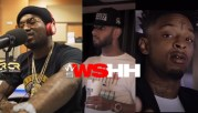 """""""Get Him The F Outta Here"""" Meek Mill Argues With Artists Saying $20K To Sign Ain't Enough + Why He Only Gave Youngins' $20 For Selling Water! [Audio]"""