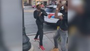 Dude Gets A Big Surprise While Squaring Up With A Man!