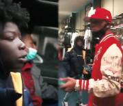 Rapper Toosii Went Christmas Shopping With The Kids Who Only Received $20 From Meek Mill While Hustlin' Water!