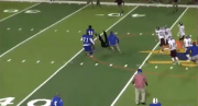Texas High School Football Player Body Slams Referee Who Ejected Him From The Game!