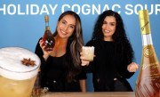 Holiday Cognac Sour Made With 50 Cent's Cognac!