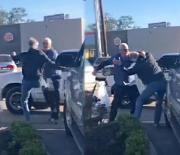 Broke His Spirit & His Hip: Old Man Caught A McWhoopin At A Mcdonalds Drive Thru For Running His Mouth!