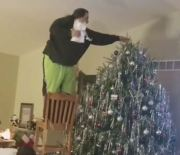 All Bad: When Setting Up A Christmas Tree Goes Wrong!