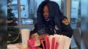 SMH: Racist Security Guard Throws Smoothie At Worker!