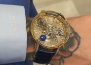 Conor McGregor Shows Off His $1 Million Dollar Watch He Just Copped!