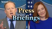 Press Briefings: Trump Admin vs. Biden Admin