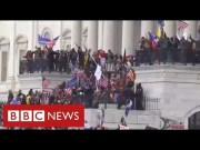 Chaos in Washington as Trump supporters storm Capitol and force lockdown of Congress – BBC News