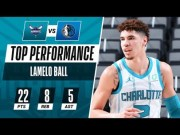 He's Going To Be A Problem? NBA Rookie, Lamelo Ball, Has His Best NBA Debut Game Yet… 22 Points Pts, 8 Reb, 5 Assists! [Highlights]