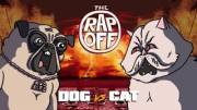 He Was Cuttin' Him Up: Battle Rap Cartoon.. Dog VS Cat! (Dog Had Bars)