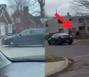 He A Real One: Dude Takes Police On A Foot Chase Then Jumps In A Random Drivers Car Who Offered Help & Got Away!