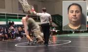 [:en]Father Tackles Son's Opponent After Seeing Him Get Slammed On His Neck![:]