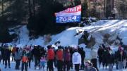 Meanwhile In New York: Man Waving 'Trump 2024' Flag Gets Taken Down & Kicked Out Of Central Park Ice Skating Rink!