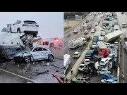 Scary: Cell Phone Footage Of Huge Car Accident In Ft. Worth, Texas… Over 100 Cars Involved, 8 People Confirmed Passed Away! (Mass Casualty)