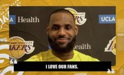 LeBron James on his heated 'interaction' with fans during Lakers vs. Hawks   NBA on ESPN