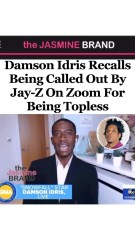 Talented: Damson Idris From Snowfall Does A Jay-Z Impression After Being Called Out By HOV For Not Wearing A Shirt On Zoom Call!