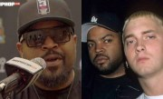 """Ice Cube Laughs About Eminem Being An Opening Act On """"Up In Smoke"""" Tour"""