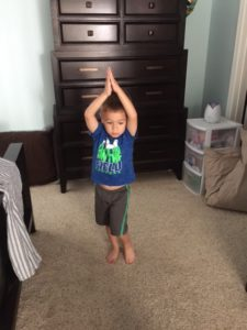 Yoga for kids pose