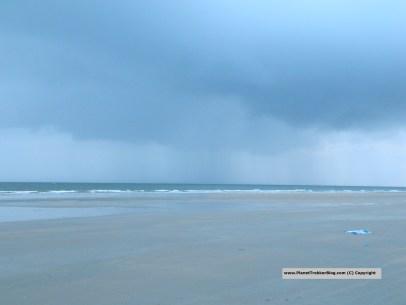 Heavens opening up during Goan Monsoon
