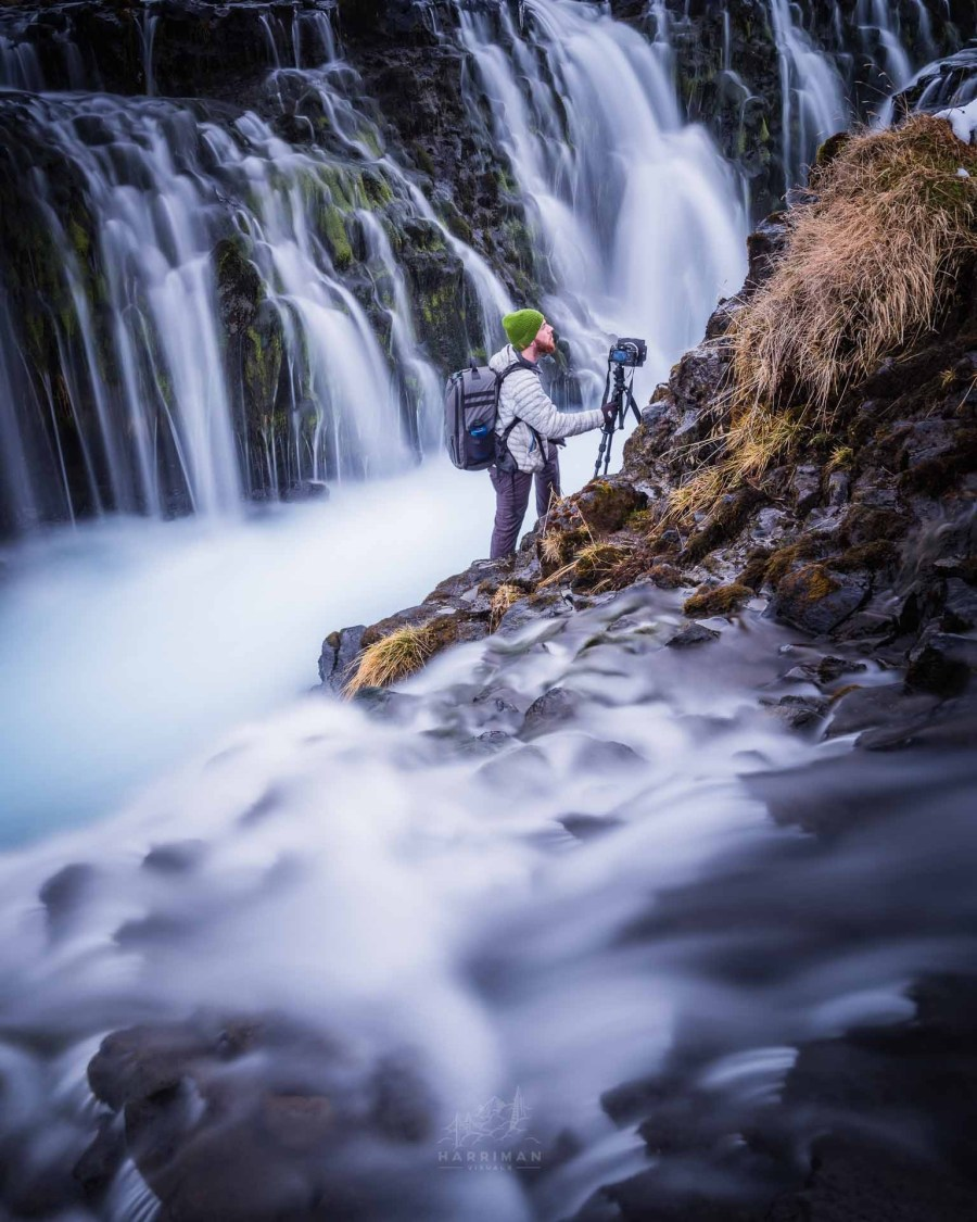 Bruarfoss Falls Iceland