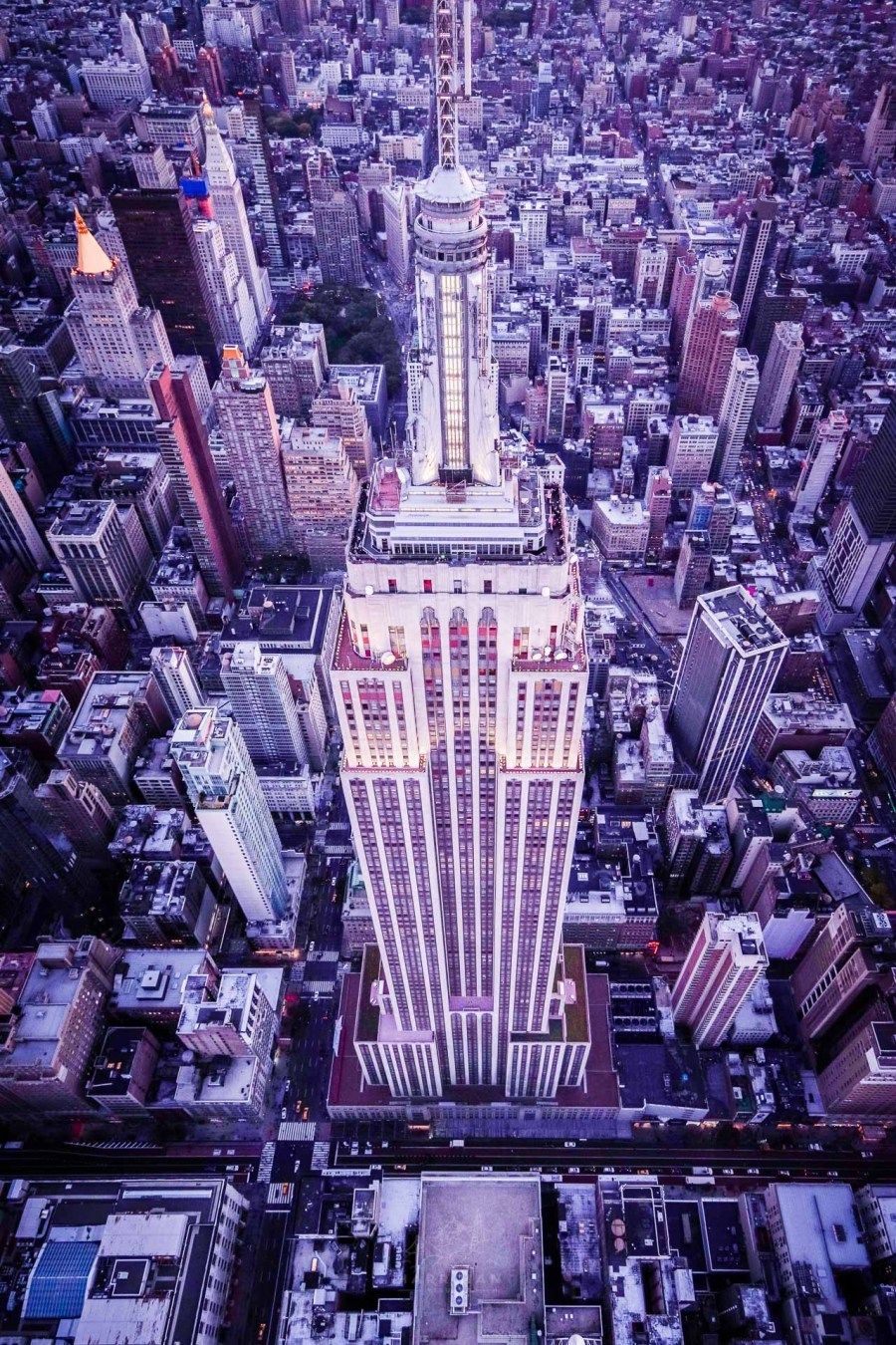 Empire State Building Aerial