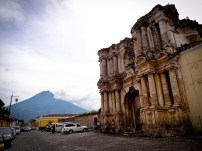 Travel Photo: Guatemala - Cathedral Ruins in Antigua