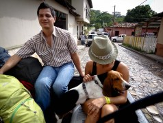Travel Photo: Honduras - Josue, Jess y Chito on their Way to Finca El Cisne