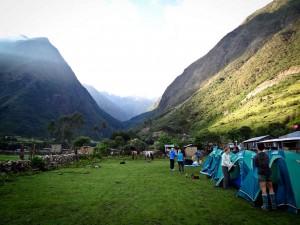 Salkantay Trek - Chaullay Camp Site