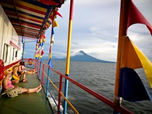 Boat from Granada to Ometepe