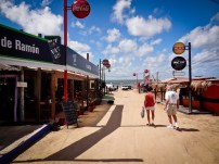 Downtown Punta del Diablo Before the Crowds
