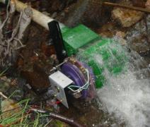 micro waterwheel