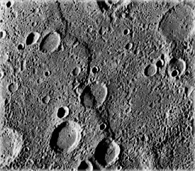 Mercury's Faults. Photo: NASA.