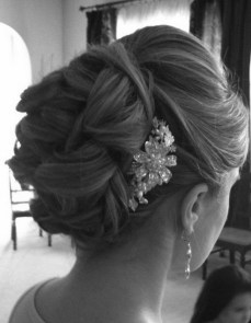 Indian bridal hairstyles updo's 07