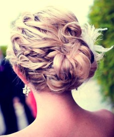 Indian bridal hairstyles updo's 15