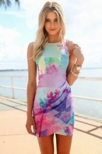 Fashionable summer dresses 09