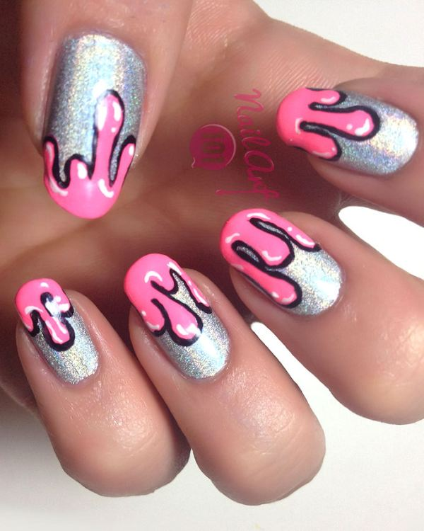 25 New nail art designs inspired by Summer'2015 | Indian ...