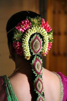 South Indian Bridal Hairstyles 08