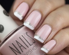 French manicure nail art designs 12