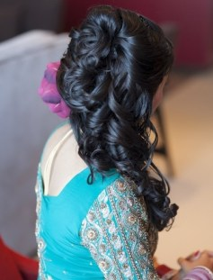 Indian wedding hairstyles 05