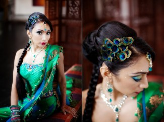 Indian wedding hairstyles 13